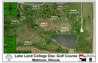 Lake Land's Disc-golf Course