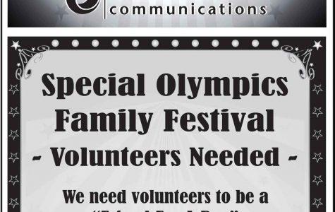 Special Olympics Family Festival Preparation Begins