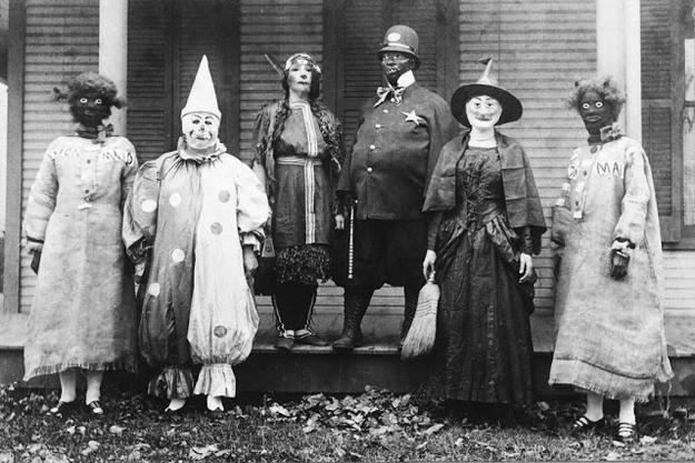 Old School Halloween Costumes were terrifying