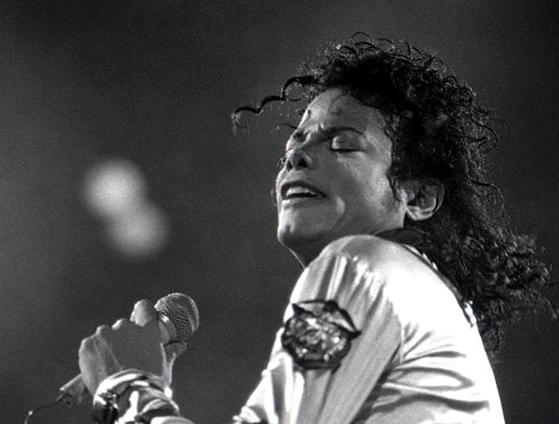 Jackson performs in Austria in June 1988. The pop star's skin color changed drastically over the years. This was the result of vitiligo, a skin condition causing the skin to become white in patches due to the destruction of melanocytes, pigment-forming cells.