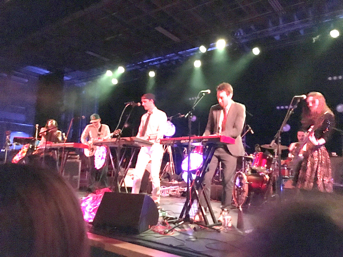 ELEL rocks the stage of the Mill & Mine in Knoxville, Tenn., on Feb. 24, 2017.