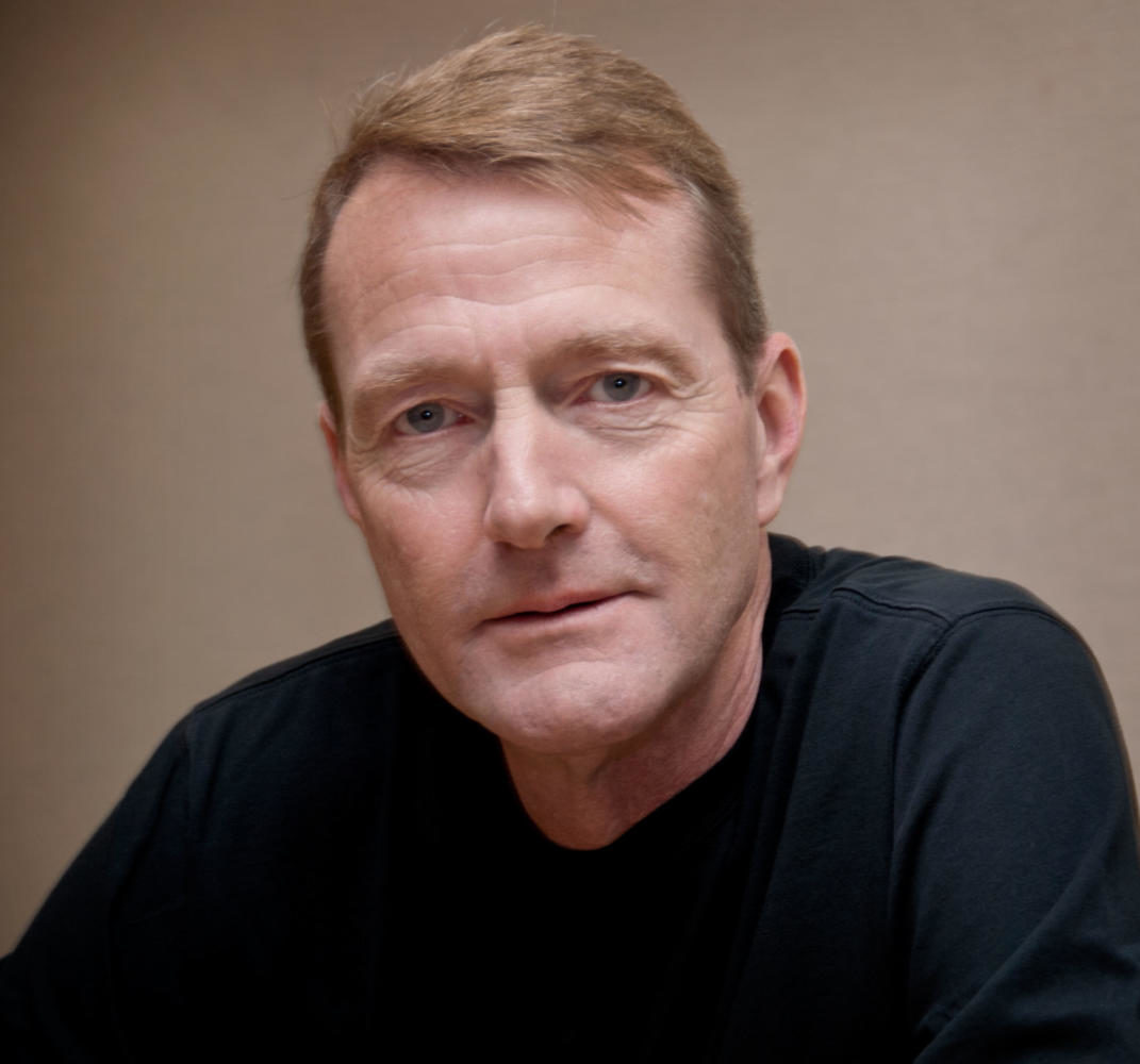 Lee Child, author of the 'Jack Reacher' series along with other thrillers. Interestingly, Lee Child is not the British author's real name. His given name is James D. Grant.
