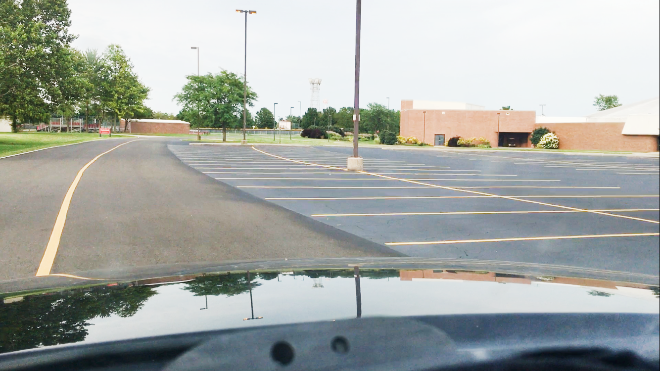 Lake Land's parking lots were repaved this summer after several student complaints about potholes and rough patches.