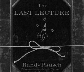 'Last Lecture' has life advice for all