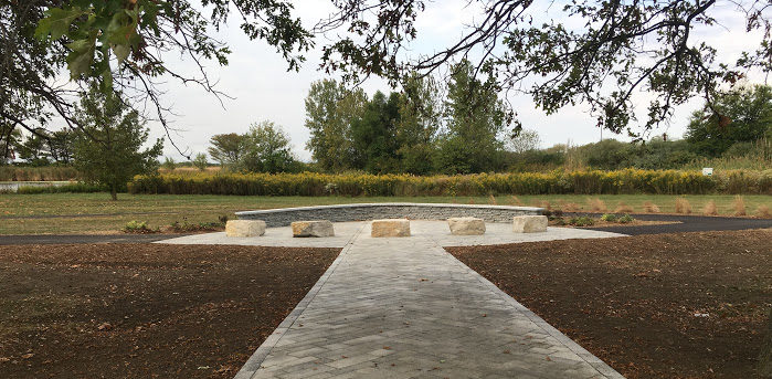 Podesta+Park+is+under+construction+at+Lake+Land.+The+park+will+honor+veteran+alumni+and+the+Podesta+family.
