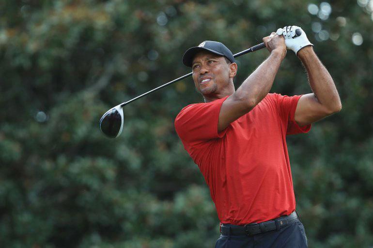 Tiger Woods comes back swinging