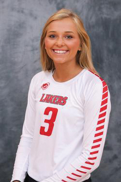 Volleyball athlete of the month: Kristy Burford