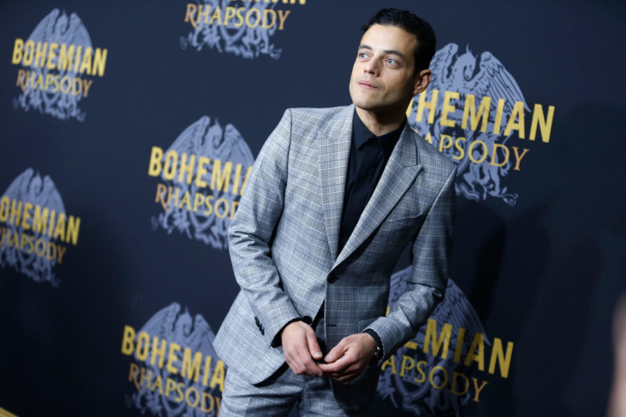 Rami+Malek+attends+%22Bohemian+Rhapsody%22+New+York+premiere+in+New+York+City.+