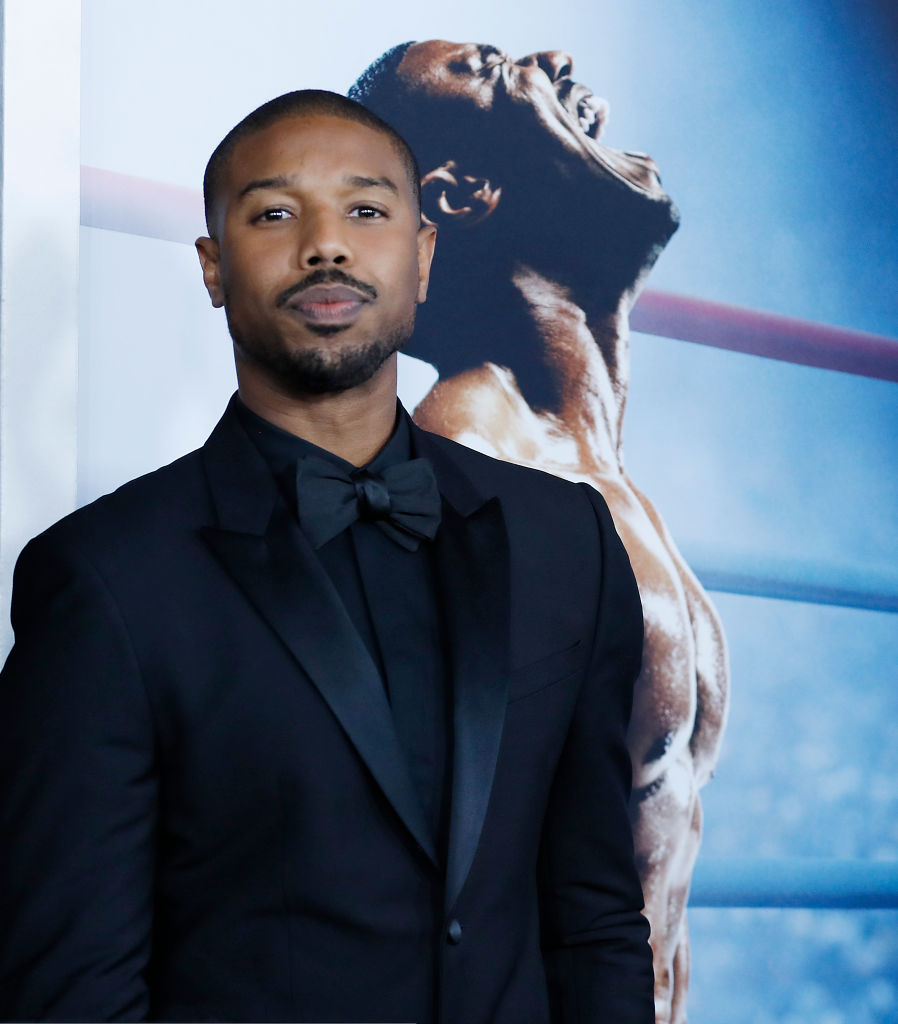 Michael B. Jordan at the New York Premiere of