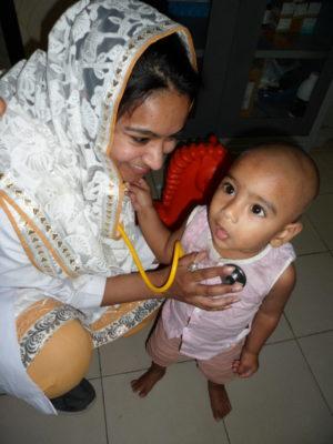 Munia Mustafa: volunteering halfway around the world