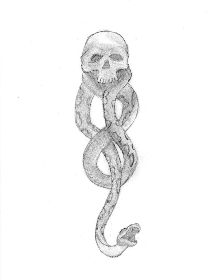 Death Eater Illustrated By Brian Kidd