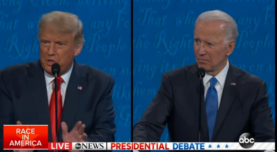 Calmer debate allows Americans to hear Trump and Biden's opinions