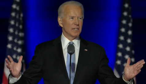 Despite lawsuits, by hand recounts and claims of election fraud, Biden is the projected winner