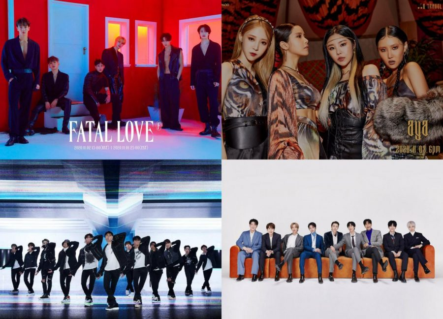 Kpop Comebacks: the first week of November