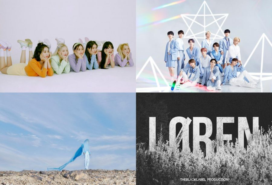 Kpop Comebacks: the second week of November