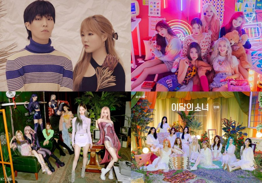 K-pop Comebacks: the third week of November
