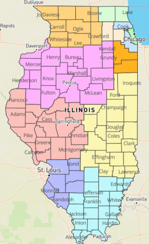 Illinois Region 6 returns to phase 4
