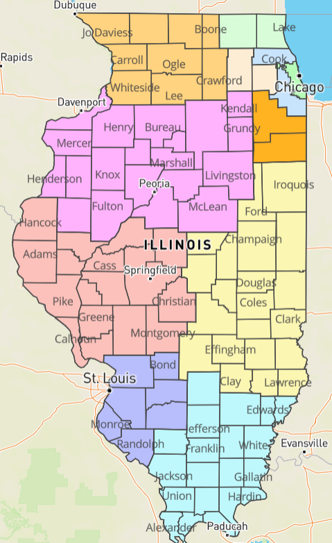Illinois Region 6 returns to phase 4