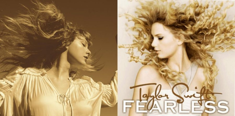 Taylor Swift releasing her re-recorded albums, starting with 'Fearless'