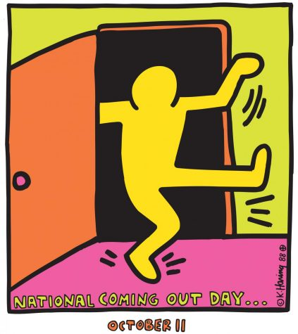 LLC celebrates Coming Out Day